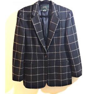 Ralph Lauren Peak-Lapel 100% Heavy Wool Blazer 12